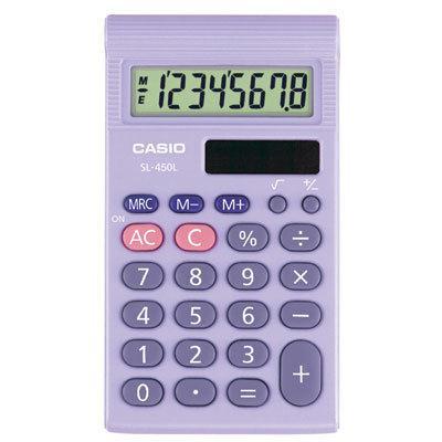 Casio SL-450TP Basic Calculator