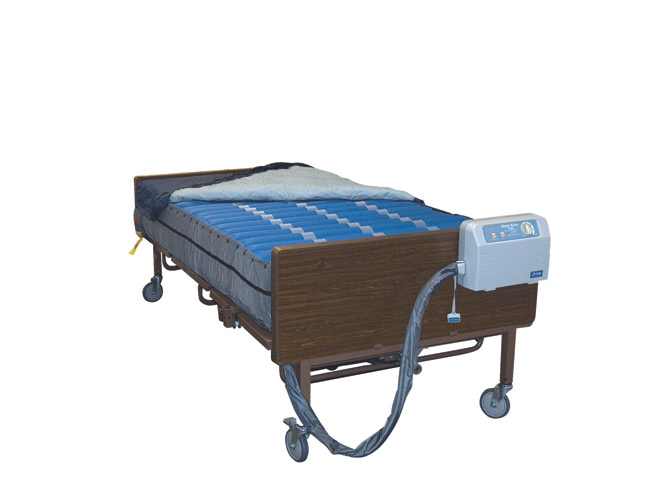 Drive Medical 14030 med Aire Bariatric 10 Inch Mattress and Pump Replacement System with APP and Pressure Alarm Bariatric Low Air Loss