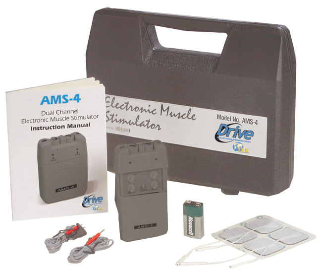 Electronic Muscle Stimulator - Drive Medical AMS-4 Electronic Muscle Stimulator