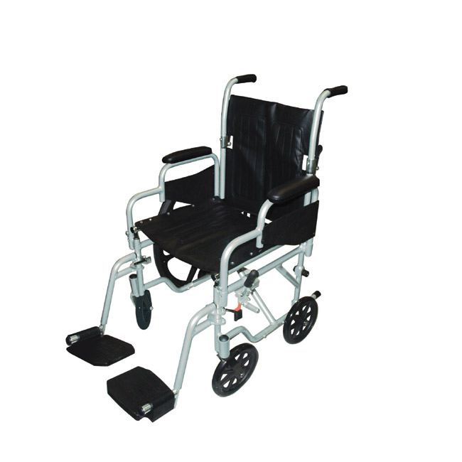 Drive Medical TR18 Polywog Wheelchair/Transport Chair 18 Inch seat width