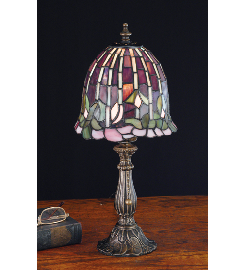 Meyda Tiffany 26647 16 Inch H Flowering Lotus Accent Lamp