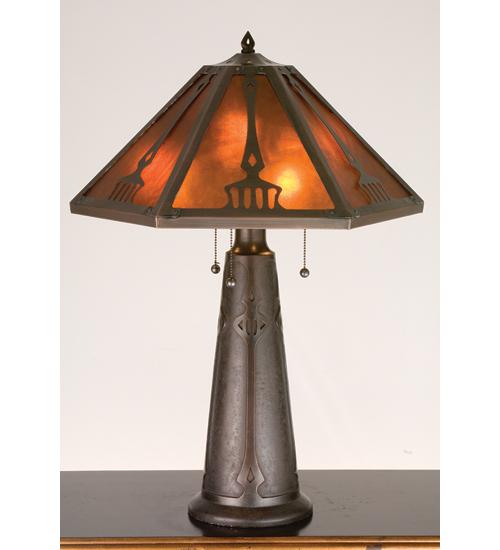 Meyda Tiffany 98516 29 Inch H Grenway Table Lamp