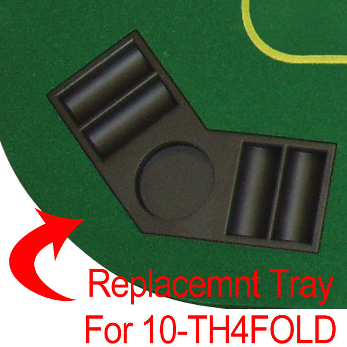 Poker 10-THCOR Straight Tray for TH4FOLD POKER1008