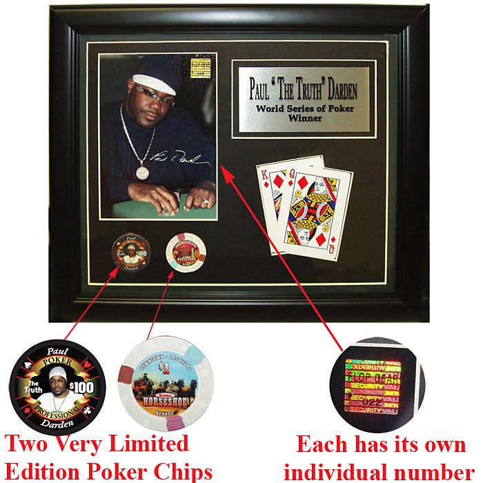 Collectibles - Paul Darden Limited Edition Collectible Plaque
