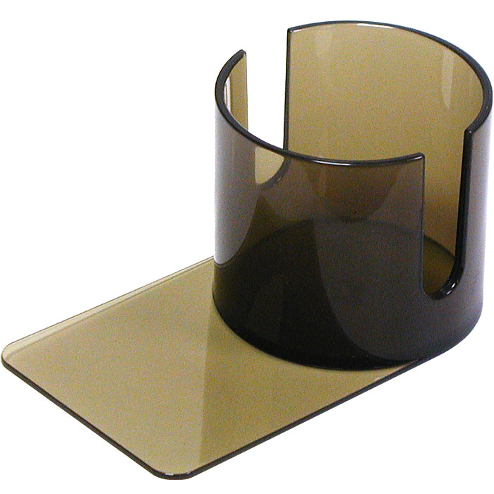 Plastic Cup Holder - Smoke Slide under with Cutouts POKER220
