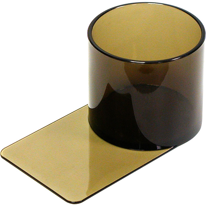 Plastic Cup Holder - Smoke Slide Under POKER221