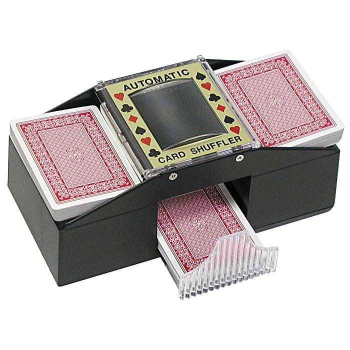 Poker 10-0046 4 AA Sized Texas Holdem Card Shuffler POKER364