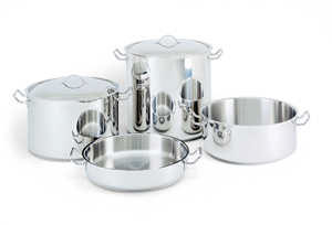 Stainless Steel Sauce Pot 42 Qts.