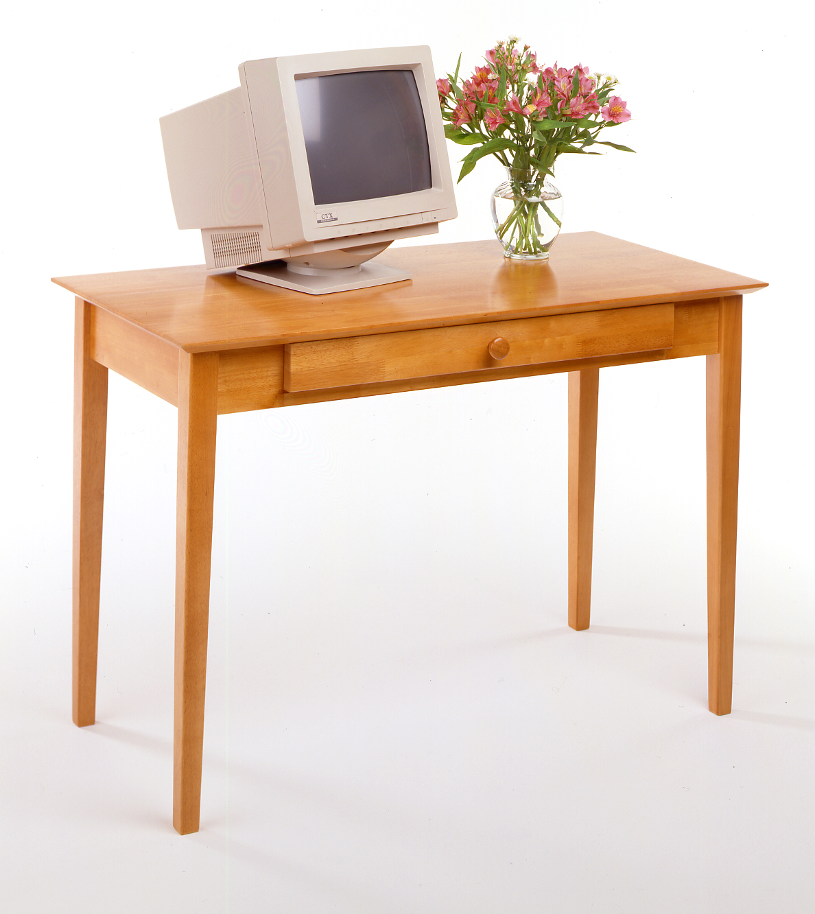 Winsome 99042 Honey Beechwood DESKCOMPUTER
