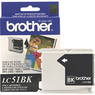 Brother International Blk Ink MFC240c/440cn/665cw LC51BK