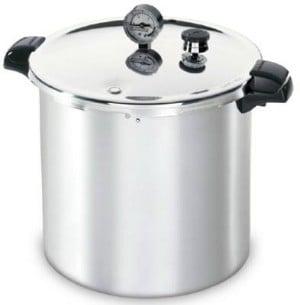Presto 01755 16Quart Aluminum Pressure Cooker / Canner