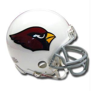 Arizona Cardinals Miniature Replica NFL Helmet with Z2B Mask by Riddell