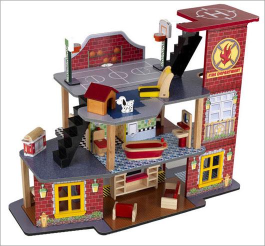 Kid Kraft 63214 Deluxe Fire Rescue Set