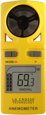 La Crosse Technology EA-3010U Handheld Anemometer