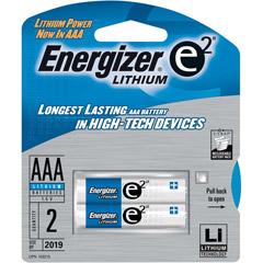 E2 LITHIUM L92BP-2 Lithium Batteries AAA - 2 Pack