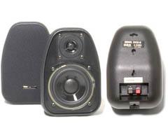 BIC AMERICA DV32-B 3.5 Inch Bookshelf Speakers Black