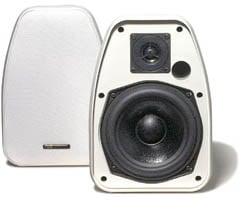 BIC AMERICA ADATTO DV52SIW Adatto Indoor Outdoor Speakers White