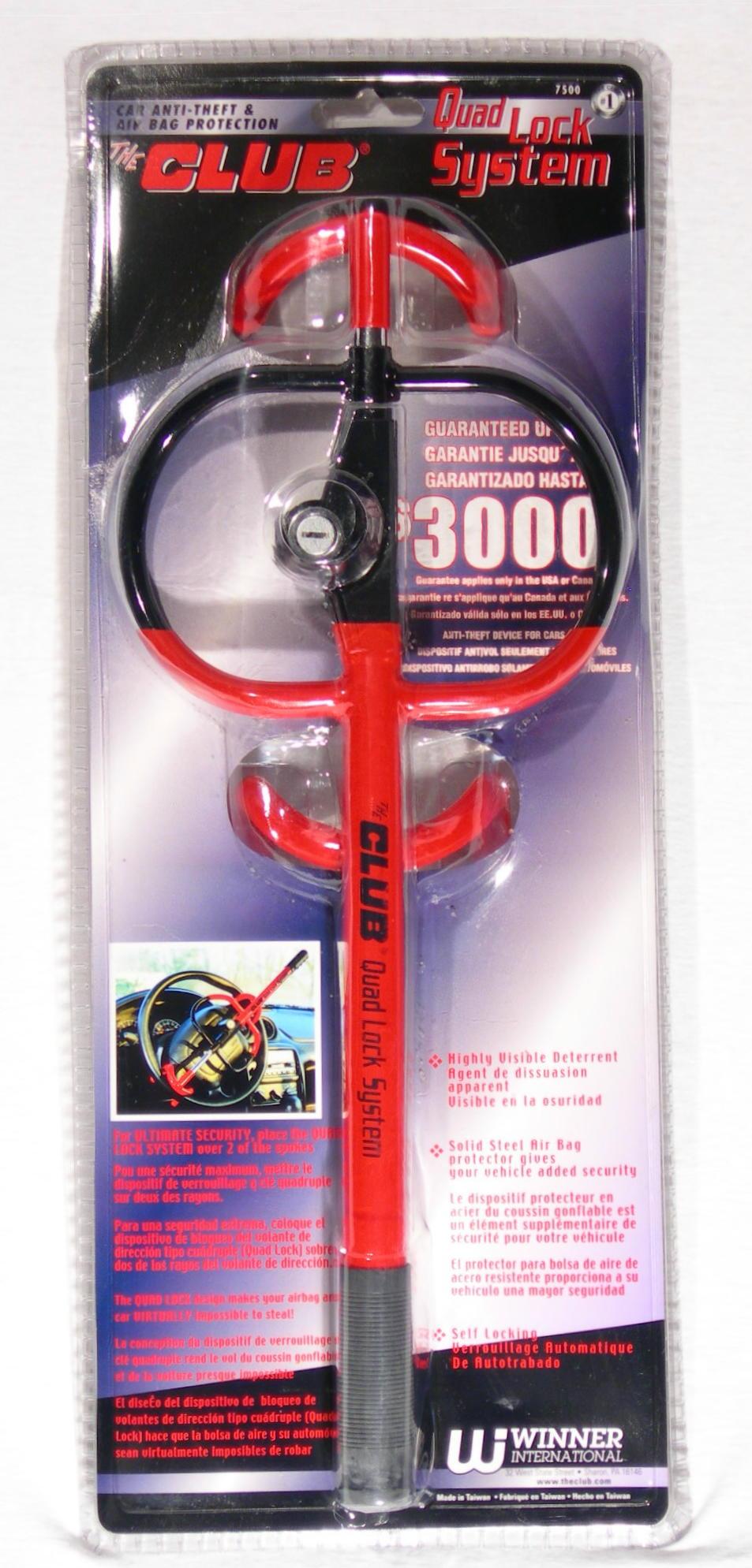 Image of Winner International 7500 Club Quad System Lock