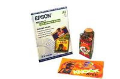 EPSON AMERICA S041106 PHOTO QUALITY SELF-ADHESIVE SHEETS