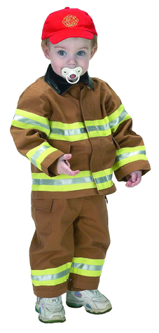 Aeromax FFT-18M Junior Fire Fighter Suit size 18M - Tan