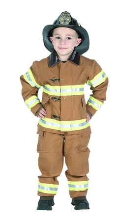 Cheap Suits - Aeromax FFT-23 Junior Fire Fighter Suit Size 2/3 - Tan