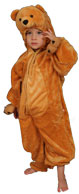 Kids Costumes - Aeromax FB-BEAR-S Kids Safari Bear Costume Small