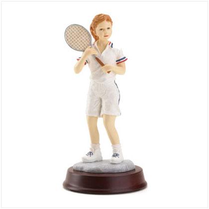 "SWM 36178 3"" x 6 1/2"" H Girl Tennis Player"