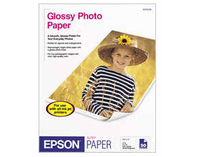 EPSON Photo Paper Glossy 4inx6in 100 sheets S042038
