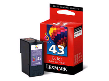 LEXMARK #43 Color Print Cartridge 18Y0143