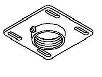 PEERLESS INDUSTRIES 4x4Unistrut andStructuralCeilingPlate CMJ300