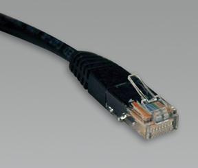 TRIPP LITE Patch cable/RJ-45 (M)/RJ-45 (M) N002-014-BK