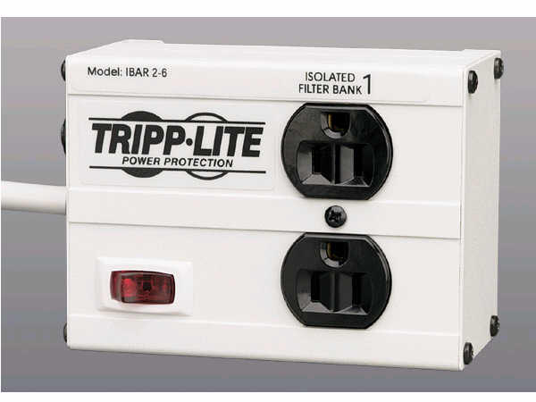 TRIPP LITE ISOBAR2 2 RCPTL W/ 6 FT CORD ISOBAR2-6