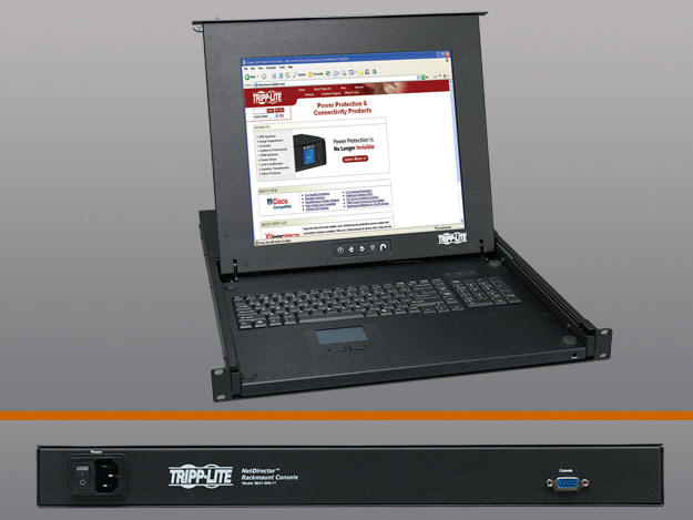 Click here for Lite NetDirector 1U Rackmount LCD Console prices