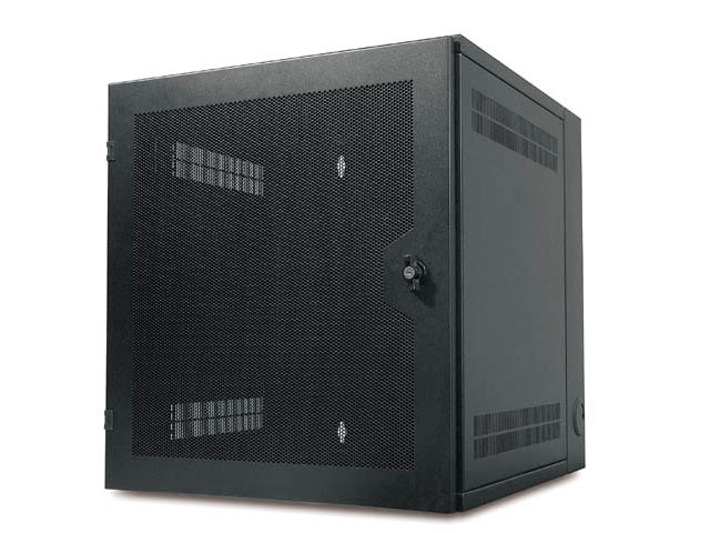 AMERICAN POWER CONVERSION 13U Wall-mount Enclosure Vented  Front D AR100HD