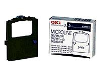 OKIDATA 52104001 Dot Matrix Ribbon Cartridge - Black