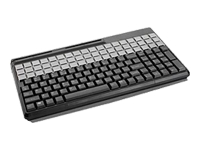 CHERRY Black QWERT MSR Black 14  USB kbd w/ 1a G86-61410EUADAA