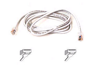 BELKIN COMPONENTS CABLE;UTPCAT5E;PATCH;6 FT A3L791-06-WHT