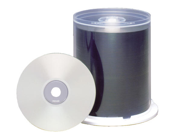 MAXELL CD-R 80min Thermal Printable 48X 100pc S 648710