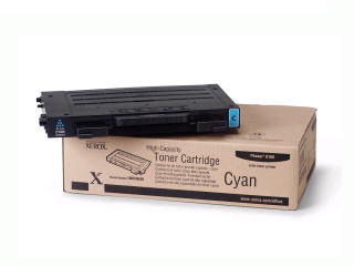 XEROX 106R00680 Capacity Toner Cartridge Phaser 6100 - Cyan High