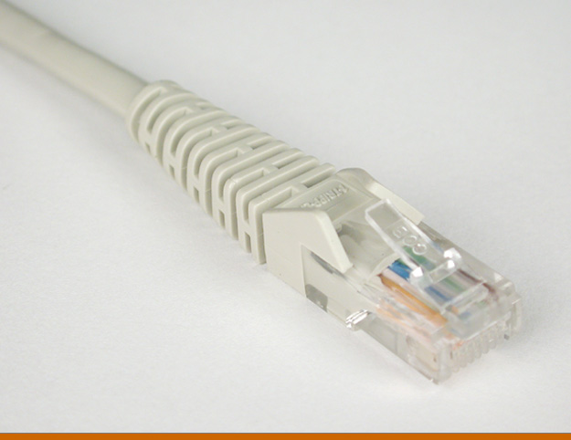 TRIPP LITE 3-ft. Cat5e Snagless Patch Cable - Gray N001-003-GY