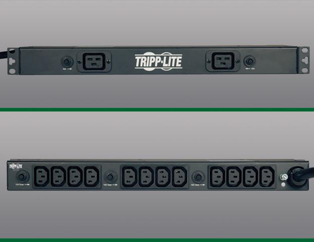 TRIPP LITE 1U-0U RACKMOUNT PDU 208V 30A PDU1230