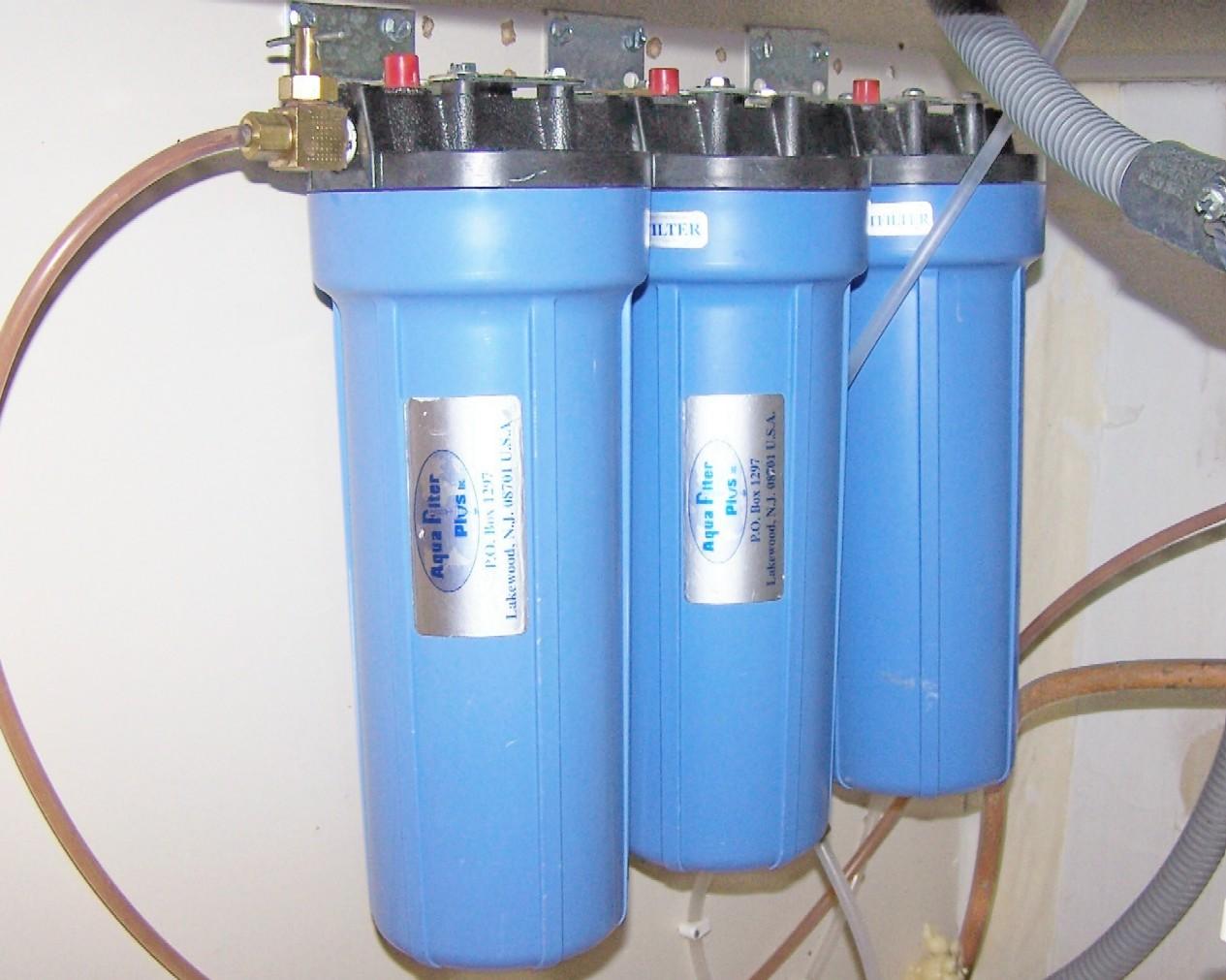 Aqua Filter Plus AFP310FC Triple-Tank Filtration System UPGRADED MODEL
