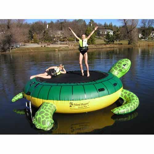 Aqua Sports THOP Island Hopper Turtle Hop Trampoline AQSP025