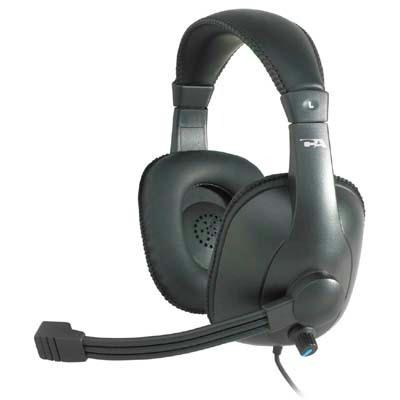 Cyber Acoustics Pro Grade Stereo Headset/Mic AC-960