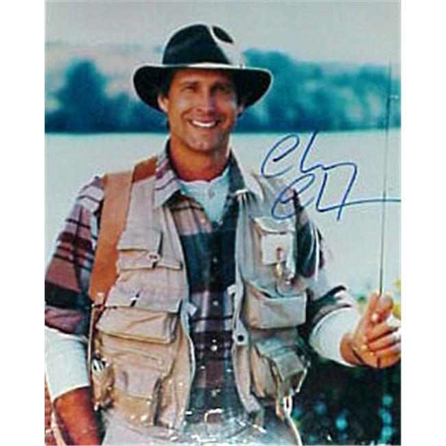 Superstar Greetings Chevy Chase Signed 16 X 20 Photo (Funny Farm) CC-16c