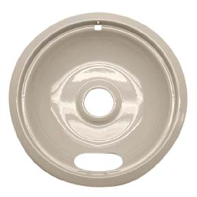 Range Kleen P120A 8 Inch Almond GE/Hotpoint/Kenmore Drip Pan