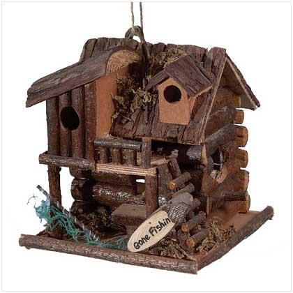 SWM 29313 Gone Fishin Birdhouse SWM102