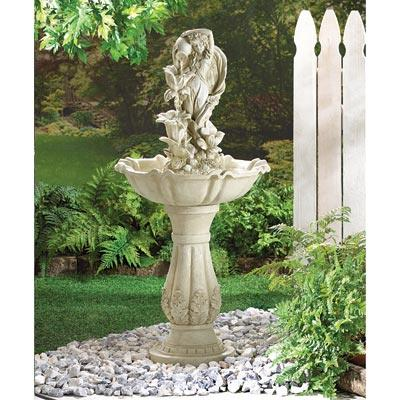 Image of SWM 34189 Fairy Maiden Water Fountain