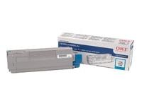 OKIDATA C5500n/C5800Ldn Cyan Toner Cartridge (5k 43324403