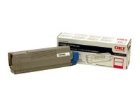 OKIDATA C5500n/C5800Ldn Magenta Toner Cartridge 43324402